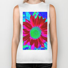 Sunflower fantasy Colors Biker Tank