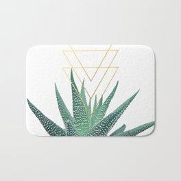 Succulent geometric Bath Mat