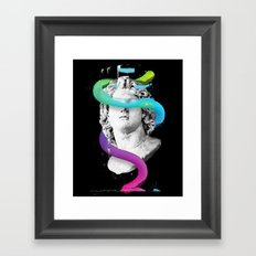 Worm Framed Art Print