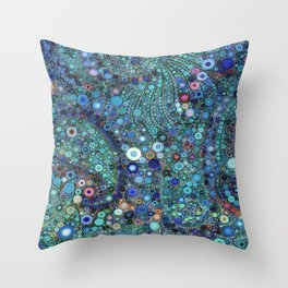 :: Ocean Fabric :: Throw Pillow