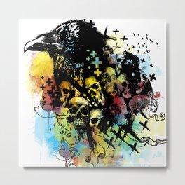 bird skulls  Metal Print