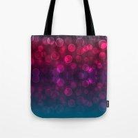 splash Tote Bags featuring Splash by Aloke Design