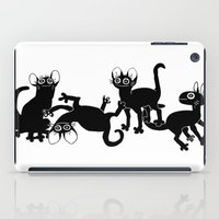 musa iPad Cases featuring 4cats by musa