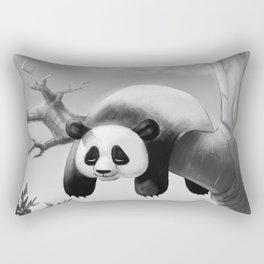Hang In There, Panda! Rectangular Pillow