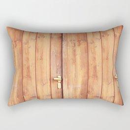 Wooden door Rectangular Pillow
