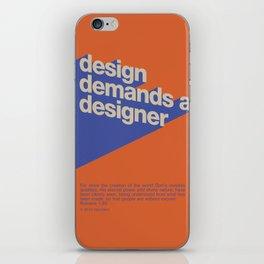 Design Demands A Designer iPhone Skin