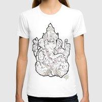 ganesha T-shirts featuring Ganesha by Sofia Bernikova