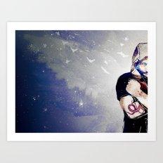 A Whisper Art Print
