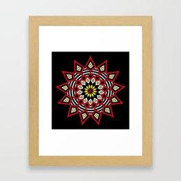 Stars Up to the Sky | Mandhala | Mother Star Framed Art Print