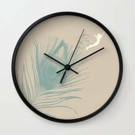 Jump Feather Wall Clock