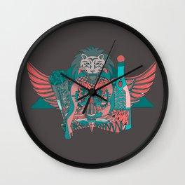 Ein Helm Wall Clock