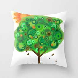 Be Like A Tree Throw Pillow
