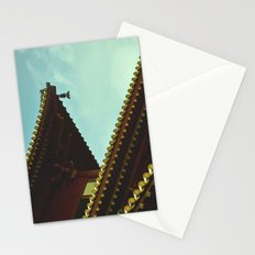 tile roof Stationery Cards