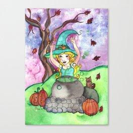 Bubble Trouble Canvas Print