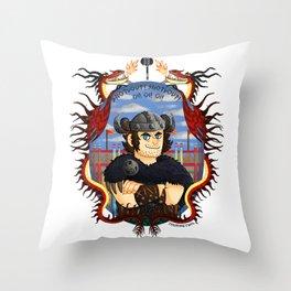 Snotlout Jorgenson Throw Pillow