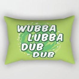 Wubbalubbadubdub Rectangular Pillow