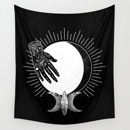 Waning Gibbous Wall Tapestry