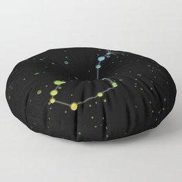 Scorpius Constellation 'The Scorpion' Floor Pillow