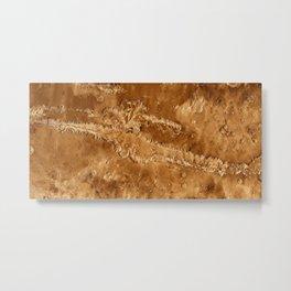 Valles Marineris Metal Print
