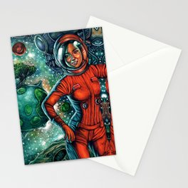 The Astronaut Stationery Cards