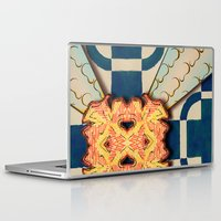 zentangle Laptop & iPad Skins featuring Zentangle by Trevor Seymour