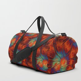 firetime pattern Duffle Bag