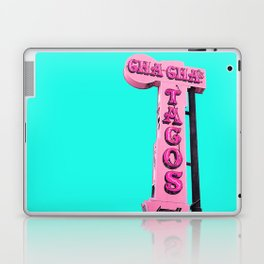 Cha-Cha's Tacos Retro Vintage Pink Sign Laptop & iPad Skin