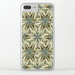 Ethnic pattern. 2 Clear iPhone Case