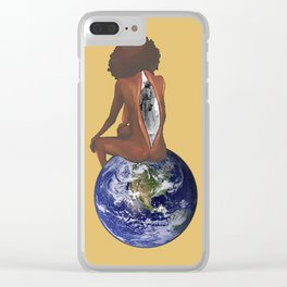 God is a Woman Clear iPhone Case