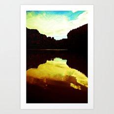 Colorado Canyons Art Print