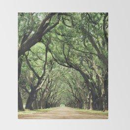 Canopy of Oaks Throw Blanket