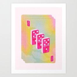 Ace of Dominoes Art Print