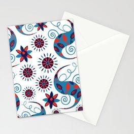 Paisley pattern #21 Stationery Cards
