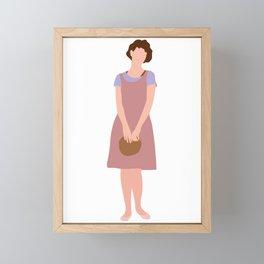 Samantha Baker Sixteen Candles 80s movie Framed Mini Art Print