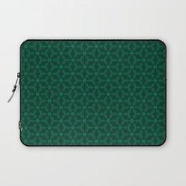 emeral green patern Laptop Sleeve