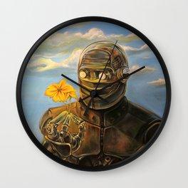 Robot & Flower Wall Clock