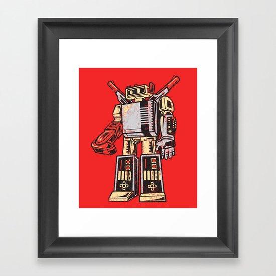 Nestron Framed Art Print