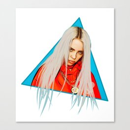 Billie Eilish Artwork Canvas Print