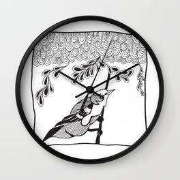 The Hopeful Bird Wall Clock
