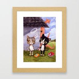 Busted! Framed Art Print