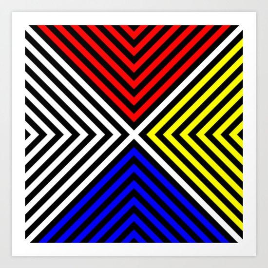 moderan v.5 Art Print