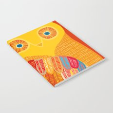 Terracotta Owl Notebook