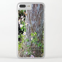 A String of Wildflowers Clear iPhone Case
