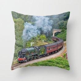Southern Railways Repton Throw Pillow