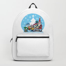 Christmas reading book Backpack