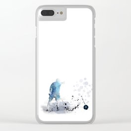 Soccer Player 6 Clear iPhone Case