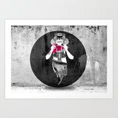 Inca sprit Art Print