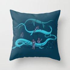 Cryptozookeeping Throw Pillow