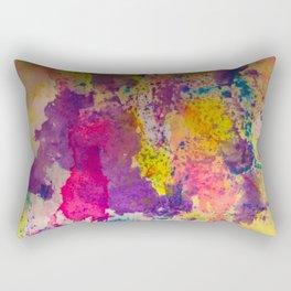 Water Color Fanatic Rectangular Pillow