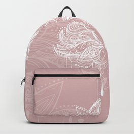Blush mandala Backpack